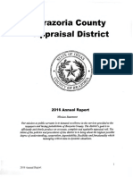 Brazoria CAD Annual Report - 2016