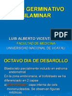 Clase 6 Disco Germinativo Bilaminar