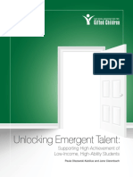 Unlocking Emergent Talent