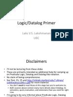 Logic Datalog Primer