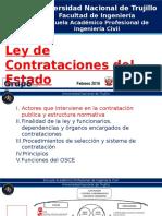 Ley de Contrataciones Del Estado