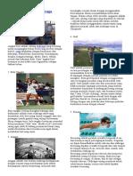 Cabang Olahraga, Penjas, Kesehatan