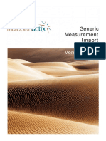 Actix Radioplan Generic Measurement Import Guide 311