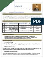 Muhammad Zeeshan, Polymer and Process Engineer