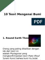 10 Teori Mengenai Bumi