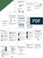 Camara IP FI9853EP Guia de Instalacion Rapida Para Windows y Mac En