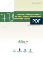 Proceedings of the Inaugural Meeting of the PEMSEA Network of Local Governments for Sustainable Coastal Development (PNLG)