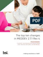 The Top Ten Changes in in MEDDEV 2.7.1 Rev 4_BSI