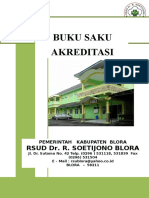 Cover Buku Saku Akreditasi RS