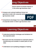 Corporates in Agri Mktg