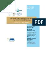 Ghid Pentru Managementul Cancerului Pulmonar - Partea a II-A - Tratament