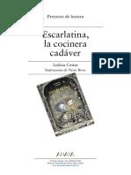 Escarlatina La Cocinera Cadáver - Guia de Lectura