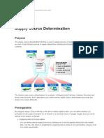 Supply Source Determination - SAP Retail - SAP Library