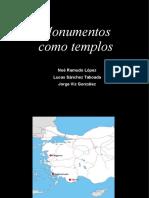 Monumentos Como Templos. Diapositivas