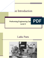 Lathe and Milling Introduction