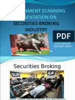 PEST Analysis of Securities Broking Industry
