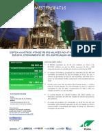 Press-release referente ao 4T16