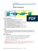 ITN Skills Assess - Student Trng - Exam