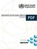 WHO Report on the Global Tobacco Epidemic, 2015