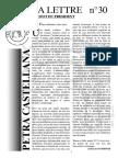Lettre  d'information 2017 pétra Castellana
