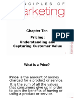 Ch 10 11 Pricing