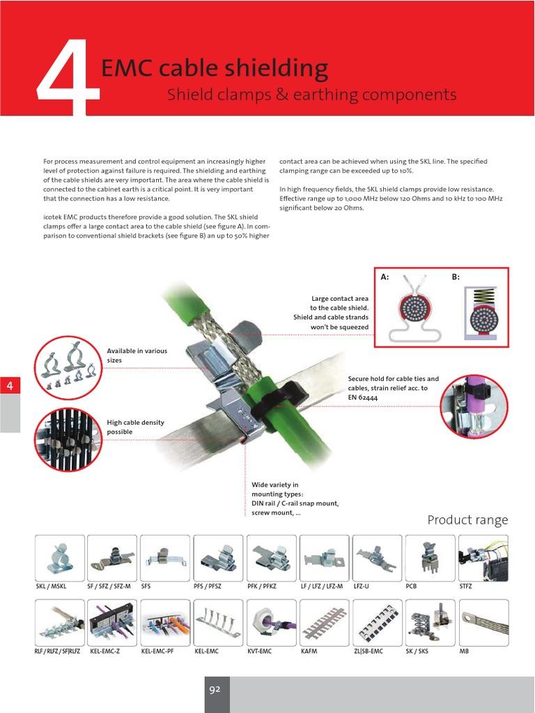 Clamp Emc 29 Cable Screw