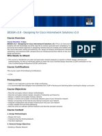 DESGN v3.0 - Designing for Cisco Internetwork Solutions v3.0