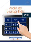 Mobile Test Coverage Index