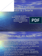 2. Speech Act Theory