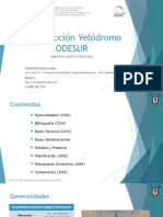 Construcción Velódromo ODESUR-ppt Rev1
