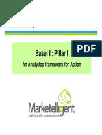 Basel II - An Analytics Framework for Action
