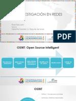 2016 11 16 Osint e Investigación en Redes