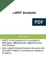 Unit i - Swot __pest Analysis