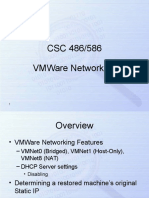 VMWare Networking