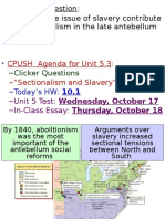 3 sectionalism   slavery