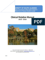 Clinical Rotation Manual