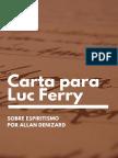 Carta a Luc Ferry