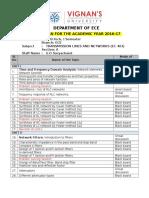 Tln_ Lecture Plan IV Ece-II Sem