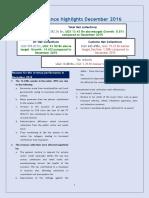 URA December Revenue Performance Press Brief