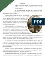 Franz Liszt - Trabalho de Literatura Do Instrumento I
