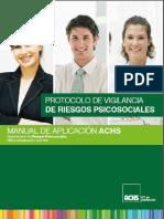 Manual de Trabajo Para Los Riesgos Psicosociales
