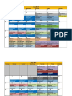Training Calendar July-September 2010
