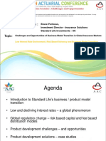 Parallel 1 - Challenges and opportunities of Business Model Transition in Global insurance markets