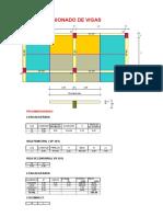 Hoja Excel para el Diseño estructural de un pórtico por el método de Takabeya