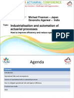 Parallel 4 - Industrialisation and automation of actuarial processes