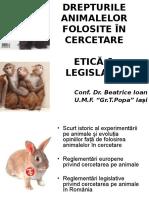 Drepturile Animalelor in Cercetare