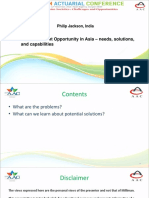 Parallel 9 - Retirement opportunity in Asia, needs, solutions and capabilities