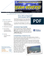 Dream Divers July 2010 Newsletter