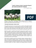 Tehnologii Moderne Pentru Cresterea Ovinelor Si Caprinelor