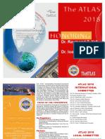 Call for contributions - 2018 ATLAS  T3  International  Conference  Babeș-Bolyai University, Cluj-Napoca, Romania,  June 3-7, 2018